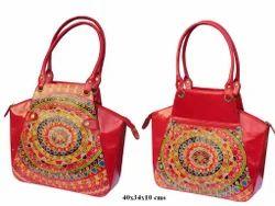 ORANGE Leather Classy Fashionable Bag