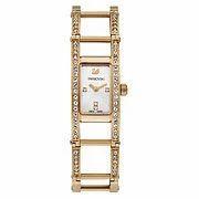 Indira Rose Gold Tone Bracelet Watch