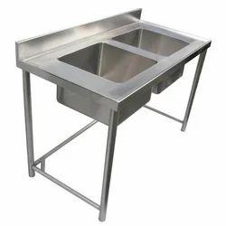 SGFKEPL Single Double Sink, For Restaurant