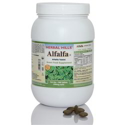 Organic Alfalfa Tablets - 900 Tablet Value Pack
