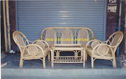 Cane Star Sofa Set