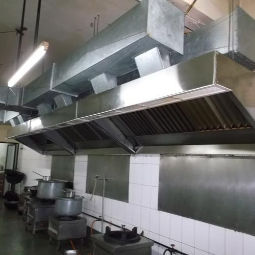 kitchen exhaust system - commercial kitchen ventilation system