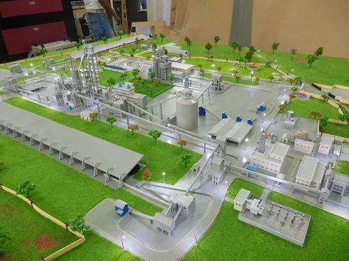 Cement Plant Model अभियांत्रिकी के मॉडल इंजीनियरिंग मॉडल