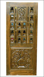 Teak Wood Pooja Room Doors Part 88