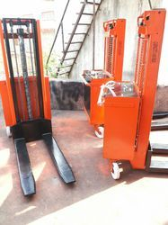 Ac Power Electric Hydraulic Stacker
