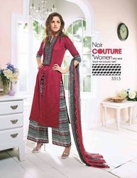 Semi Stitch Salwar Suits