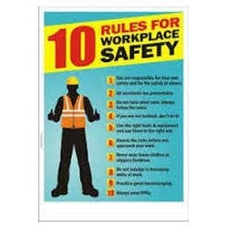 Safety Posters Construction Safety Poster Manufacturer