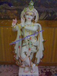 Religious Krishna Marble Statues