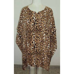 Tiger Print Short Kaftan