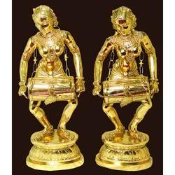 Brass Musical Statue Showpiece
