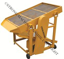Ms STRONG MACHINES Vibratory Sand Screen Machine, Capacity: 2 To 3 Cum/Hr., For Sand Screening Washing