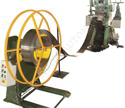 Pneumatic Feeder with Motorized Decoiler 500 Kgs.