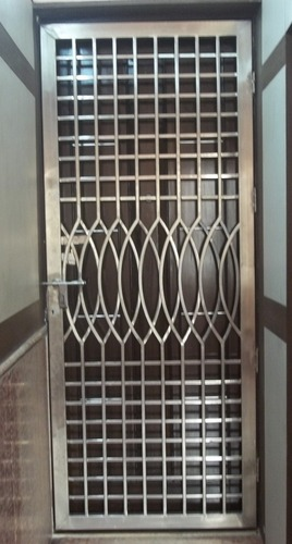 Stainless Steel Gates Steel Gates Manufacturer From New Delhi