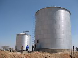 Wheat Storage Tank