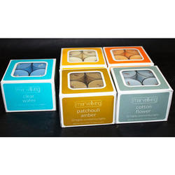 12 PK Highly Scented Plastic Tealight