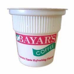 Plastic Coffee Glass