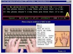 Computer Typewriting Training