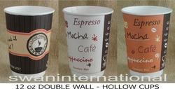 Double Wall Hollow Cups