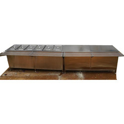 Bain Marie with Supporting Table