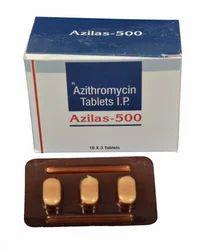 Azilas 500 Azithromycin 500 mg  Tablets