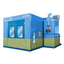 Automotive Spray Bake Booth