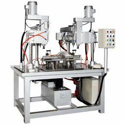 Pneumatic Slide Way Drilling & Tapping Machine