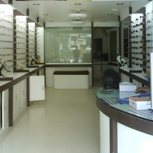 Lights Shop In Pune: Optical Showroom Interior Designing In Pune, Chantelle's