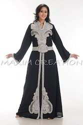 Designer Evening Wear Abaya For Lady