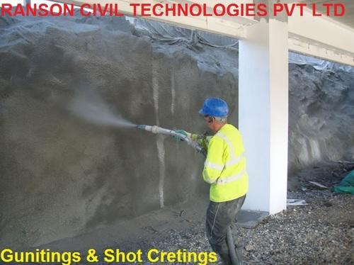 Guniting And Shotcreting Contractors Guniting And