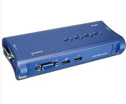 4 Port USB KVM Switch Kit