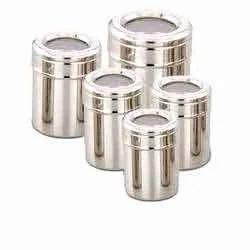 5 Tin Steel Ubhi Dabbi, For Home, Packaging Type: Box