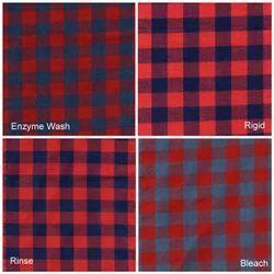 Indigo Yarn Dyed Shirting Fabric