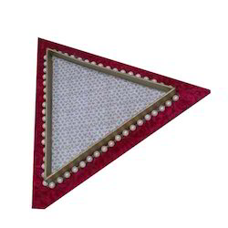 Triangular Wooden Tray