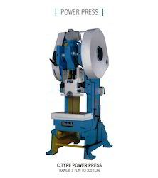 10 Ton C Type Power Press 2'' St.