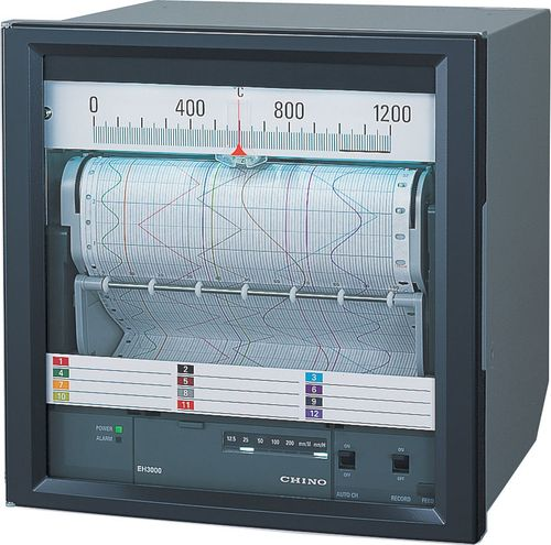 Strip chart recorder measuring equipments instruments dpm