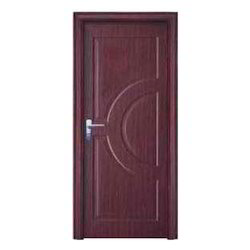 Brown Stainless Steel Molded Steel Doors, Thickness: Variable, Single