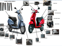 Scooty Components