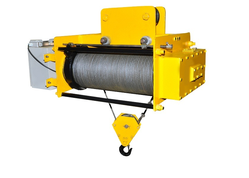 Electric Wire Rope Hoist, Wire Rope Electric Hoist - The Crane ...