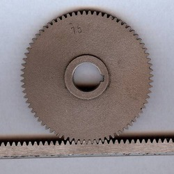 Rack and Gears Lathe Machine