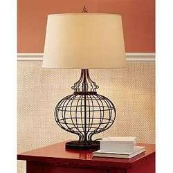 Table Lamp With Round Base