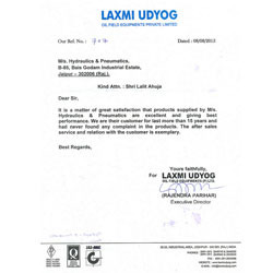 Laxmi Udyog Oil Field Equipment Private Limited
