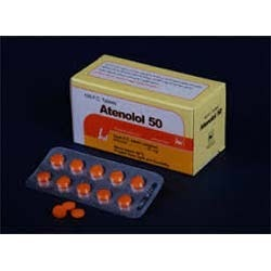 Atenolol oyster side effects