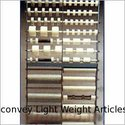 Gravity Rollers to Convey Light Weight Articles