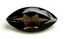 Smoky Quartz Faceted Marquise Gemstone