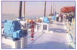 River Water Control Gate System