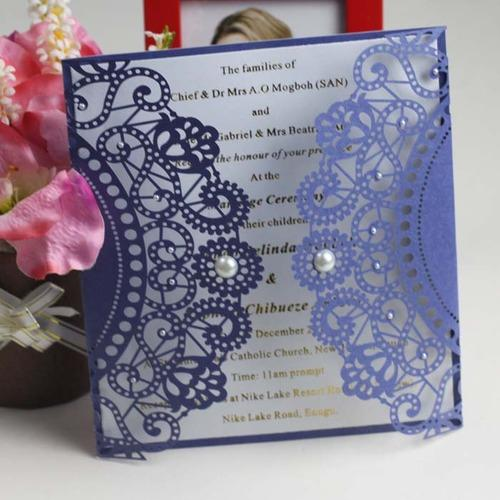 Laser Cut Wedding Invitation Cards at Rs 67 pieces Wedding