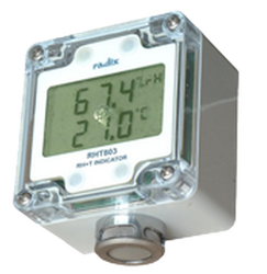 Battery Operated Humidity Indicator