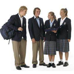 Blue And Black Both Student School Uniforms
