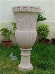 Pink Sand Stone Flower Pot