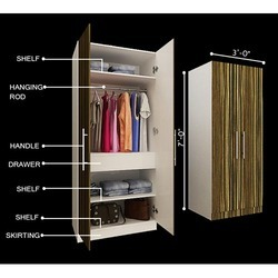 Standardized Wardrobes Designer Wardrobes Architect Interior - Wardrobe design for bedroom in india